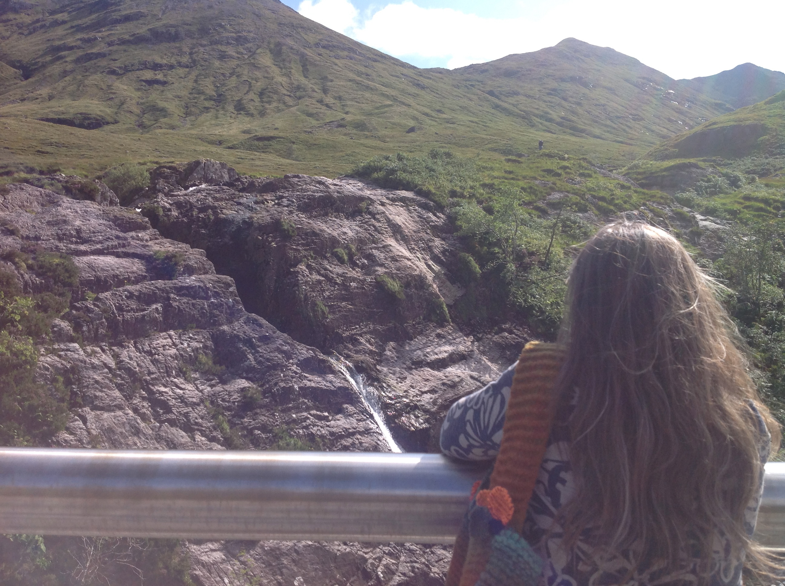 Martina at Glencoe Falls