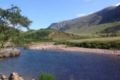 Glen Etive roadside view